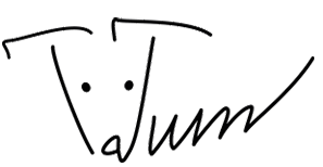 logo Tatiana Tumashik tatum design web design
